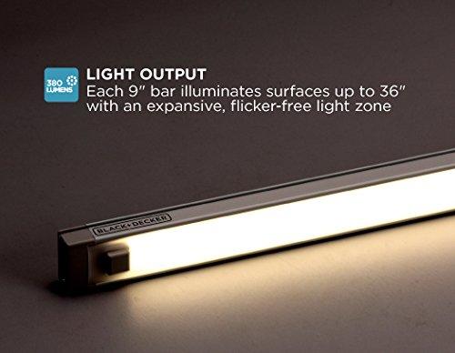 BlackDecker-1-Bar-LED-Under-Cabinet-Lighting-Add-On-9-inch-Bar-Tool-Free-Installation-Cool-White-Home-Task-Lighting-LEDUC9-1C
