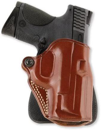 Smith /& Wesson M /& P 9-40   compact  paddle holster leather black