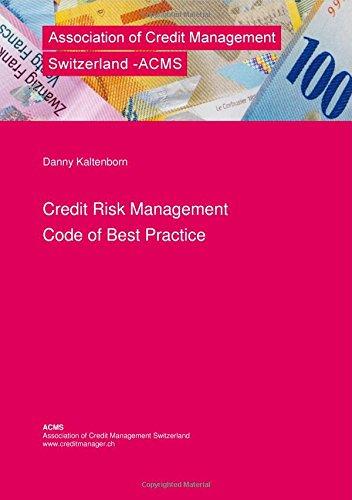Credit Risk Management - Code of Best Practice