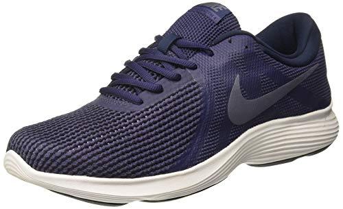 Nike Men's Revolution 4 Running Shoes (11.5 D(M) US, Anthracite/Lt Blue Fury Dk Gry)