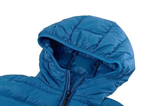7cfd2069a87 EQUICK Women s Hooded Down Jacket Packable Ultra Lightweight Outwear Puffer  Coats with Travel Bag