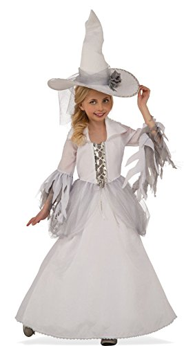 Rubie's Costume Child's White Witch Costume, Large, Multicolor -