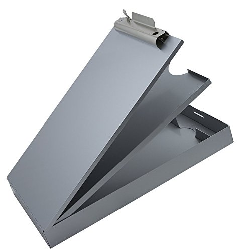 Saunders Recycled Aluminum Cruiser-Mate Storage Clipboard - Form Holder with Dual Storage and Self Locking Latch. Office Supplies by Saunders