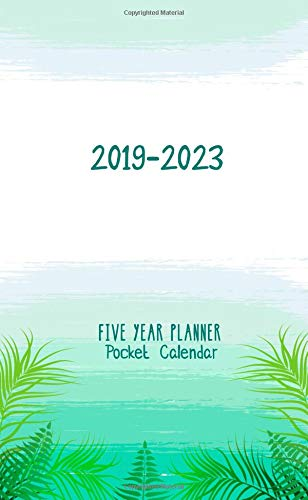 Around Planner - 2019-2023 Five Year Planner Pocket Calendar: little Monthly Planner Personal Time Management Schedule Organizer and Journal Notebook