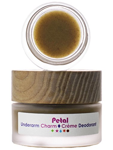 Living Libations - Organic/Wildcrafted Petal Underarm Charm Cream Deodorant (6 ml)