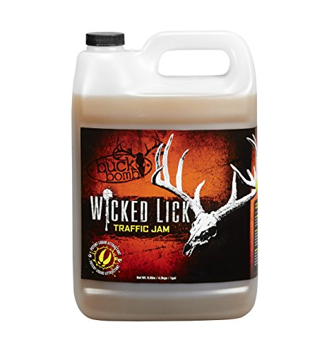 Buck Bomb MM-WL-TJ-01 Wicked Lick Acorn Traffic Jam Liquid Deer Attractant (Deer Jam)