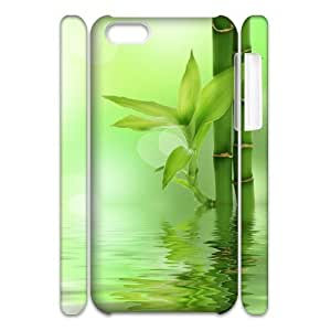 Bamboo Customized 3D Cover Case for Iphone 5C,custom phone case ygtg-335670