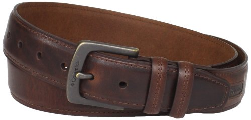 Columbia Men's Columbia 40mm Goose Lake Belt,Brown,52 ()