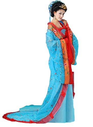 Bysun Women's chinese Costume stage cosplay BlueFS
