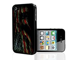 Grunge American Flag Hard Snap on Phone Case (iPhone 4/4s)