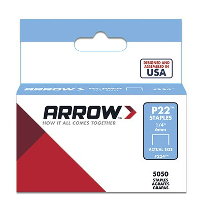 Arrow Fastener # 224 5000 Pack 1/4