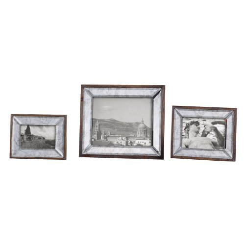Daria Antique Mirror Photo Frames S/3 18567 by Uttermost