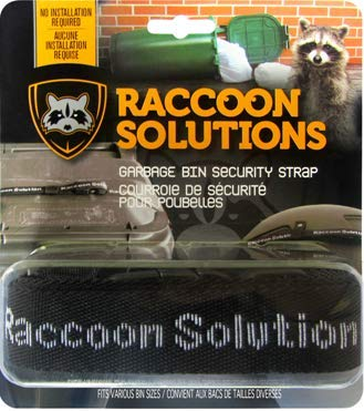 Amazon com: Racoon Solutions Garbage Bin Locking Device