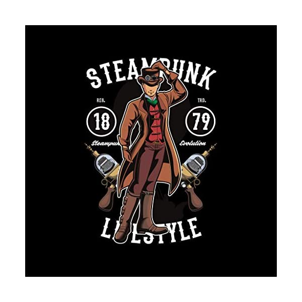 Steampunk Lifestyle Kid's Sweatshirt 4