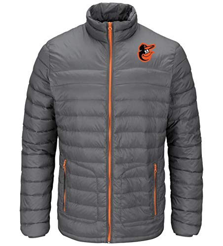 - Train To Win Jacket Baltimore Orioles (Unisex) Gray Puff Coat (x-Large)
