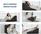 AngQi Memory Foam Contour Pillow, Neck Pillow for