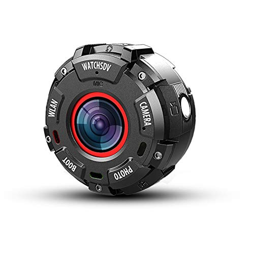 TLgf Outdoor Sports Camera Waterproof Watch Camera Sport Extreme Sports DV Aerial Dive WiFi Camera for Outdoor Wonderful Moment Recording