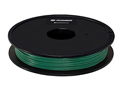 Premium 3D Printer Filament PLA 1.75MM, .5kg/Spool Pine Green from Monoprice Inc.