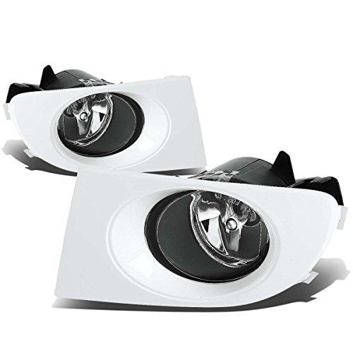Pulsar (Australia)/Bluebird (Japanese) Sedan Clear Lens OE Bumper Fog Light (Pair, Driver+Passenger Side)