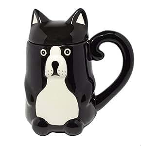 Dog Mug with Lid