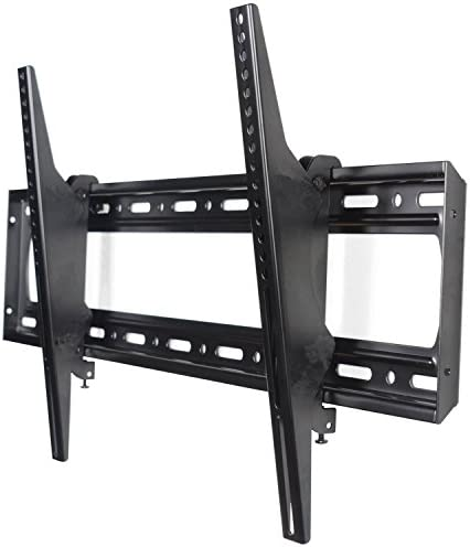 VideoSecu Tilt TV Wall Mount Bracket for Most LG 60 65 70 75 77 80 86 Plasma LCD LED TV Max Loading Capacity up to 220lbs and Max VESA up to 800x400mm C07
