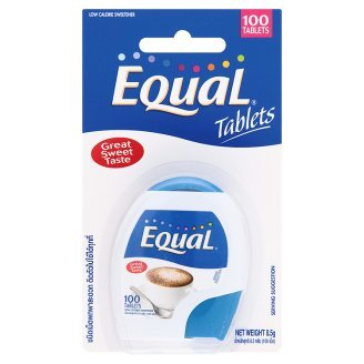 Equal : Sucralose Sweetener 100 Tablets Product of Thailand