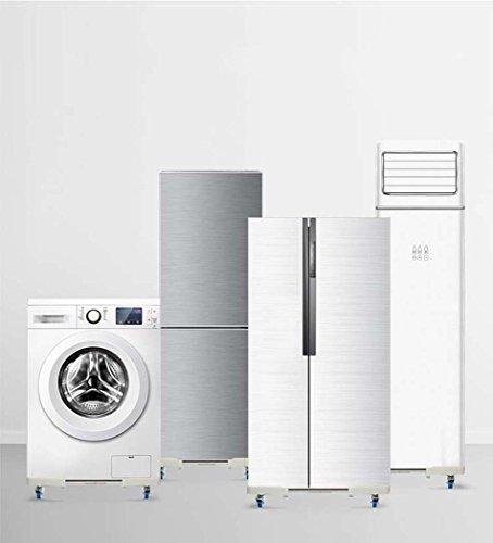 washing machine base, With 4 Locking Rubber Swivel Wheels Roller Dolly ,washing machine base plate for Dryer,Washing Machine and Refrigerator by DSHBB (Image #2)