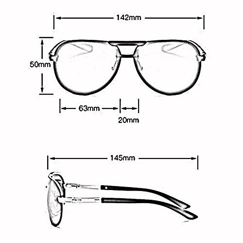 UV400 Metal De ZX Hombre Gafas De Movimiento Sol Luz Gafas Polarizada 1 2 Anti para Marco Manejar Color q6nq47