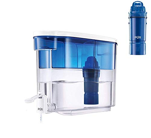 18 Cup Dispenser Filter Provides Up To 40 Gallons or About 2 Months of Filtered Water, Additional Filters Included (Dispenser with 4 Filters) ()