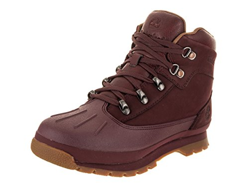 Timberland Kids Euro Hiker Shell Toe Dark Red Boot - 5