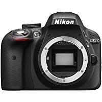 Nikon DSLR camera D3300 body black D3300BK [International Version, No Warranty]