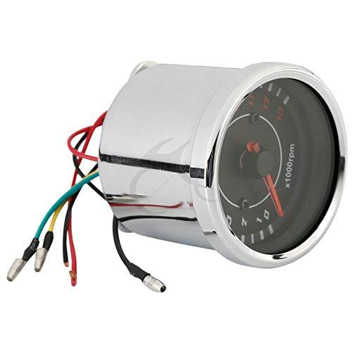 Star-Trade-Inc - New Universal Motorcycle LED Night Light Tachometer Speedometer Tacho Gauge RPM LED Back Light 12V Digital Backlight