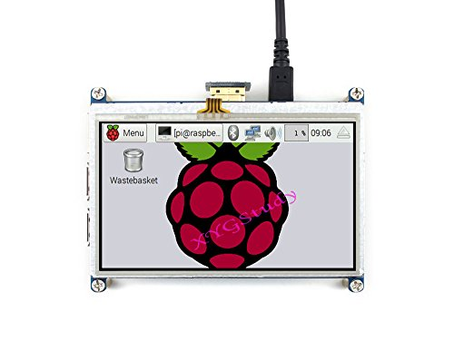 4.3inch HDMI LCD, HDMI interface Raspbian Ubuntu LCD 4.3 inch 480×272 Resistive Touch Screen mini PC Supports Raspberry Pi 3 2 Model B B+ Pi Zero v1.3 @XYGStudy
