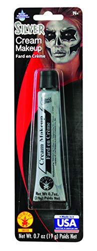 Rubie's Costume Co - Silver Metallic Cream Make-up , 1.0 oz]()
