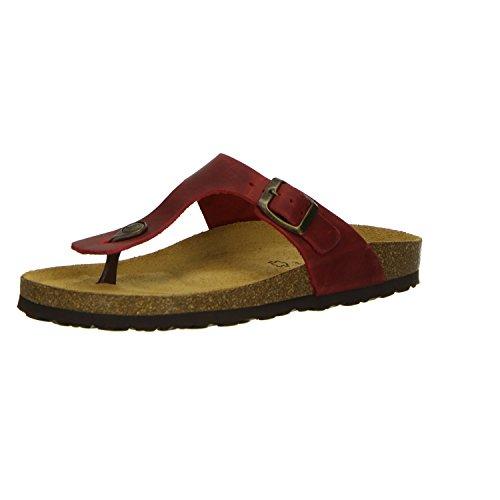 Salamander Damen Pantoletten Rot