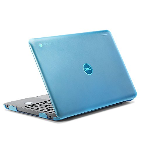 """iPearl mCover Hard Shell Case for 2017 11.6"""" Dell Chromebook"""