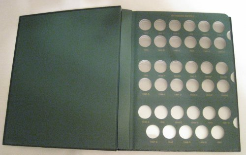 2002 Slip - Jefferson Nickels 1938 - 2002 Proofs Included Coin Album (The Coin Collector)