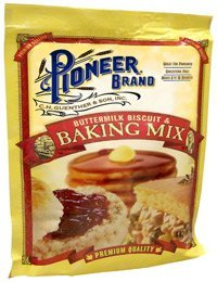 Pioneer Buttermilk Biscuit & Baking Mix 6 Oz (Pack of 5)
