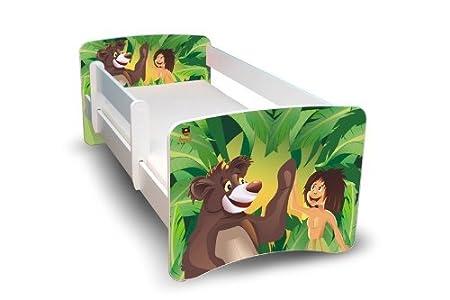 Best For Kids Kinderbett Jugendbett 90x180 mit Rausfallschutz 44 Design