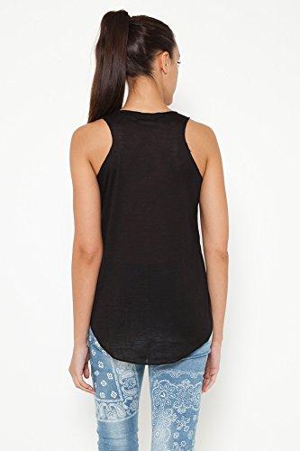 TANTRA, Camiseta sin Mangas para Mujer Negro