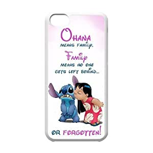 New Fashion Case James-Bagg cell phone case cover Lilo And Stitch - Ohana Means Family For iphone 5s 1kY5stYlIUB Style-9