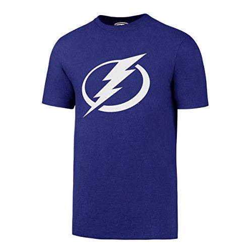 OTS NHL Tampa Bay Lightning Men's Rival Tee, Medium, (Tampa Bay Lightning Ice Hockey)