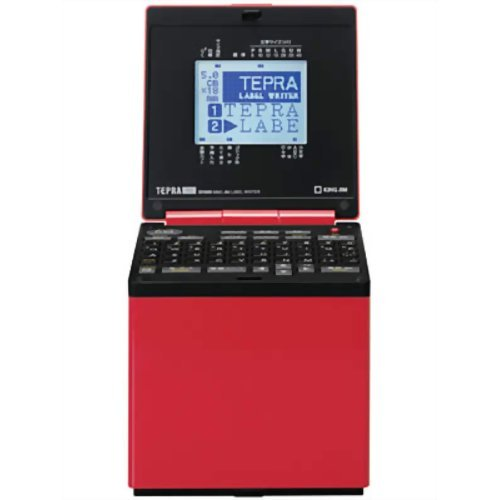 キングジム ラベルライター テプラ PRO SR600 レッド B003Q3Q8KO