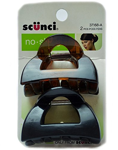 Price comparison product image Scnc Jaw Clips N/S 5.5cm Size 2pk Scunci Jaw Clips No Slip 5.5cm 2pk