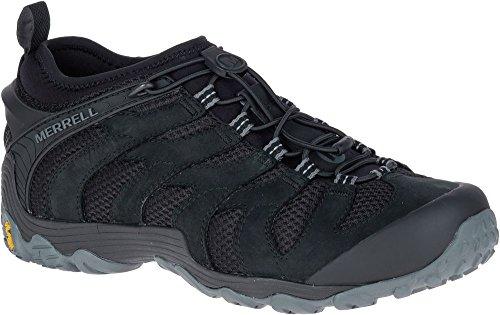 Merrell Men's Chameleon 7 Stretch Hiking Shoe, Black, 12.0 M US