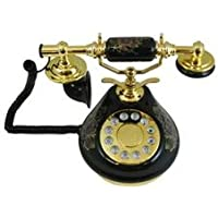 GOLDEN EAGLE 8809-HT Porcelain Phone BLACK / PORCELAIN-BLACK /