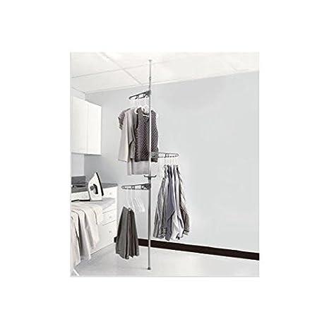 Amazon.com: Tensión Polo secador de ropa colgadero: hogar ...