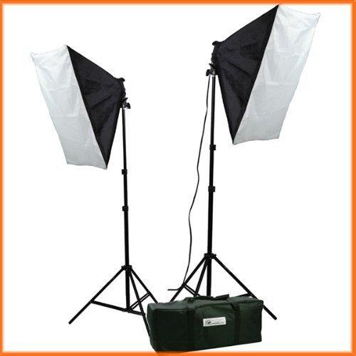 (ePhoto Video Studio Photography Lighting kit softbox light kit video lighting kit CASE)