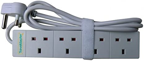 Travel Adapter South Africa Power Plug Strip Multi Safe Amazon Co Uk Electronics