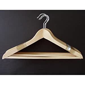 Ikea bumerang standard wooden clothes hangers for Hanger for clothes ikea